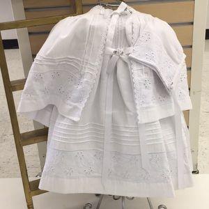 Other - Baptismal Baby Dress, Ropón de Bautizo para bebe.